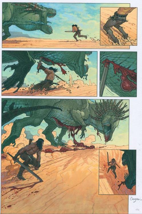 Conan contre le dragon empoisonné ©Glénat