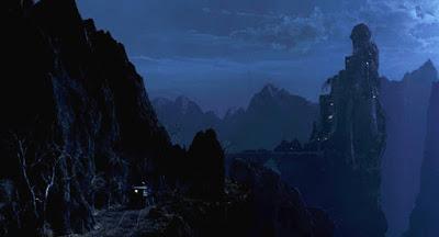 Un château de vampire qui ne fait pas semblant… © Columbia Pictures Source: Tsimpkins.com http://www.tsimpkins.com/2015/10/bram-stokers-dracula-1992-gary-oldman.html