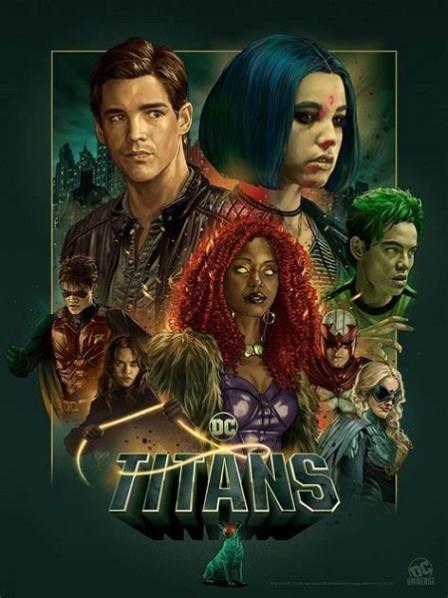 Les Titans comme vous ne les verrez... jamais ! ©2019-DC Universe-Warner Bros Source : AlloCiné