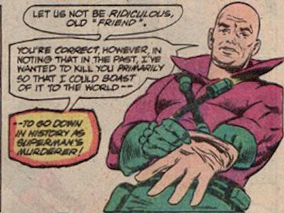 Le problème c'est pas tant la couleur que le col pelle à tarte relevé. ©DC Comics