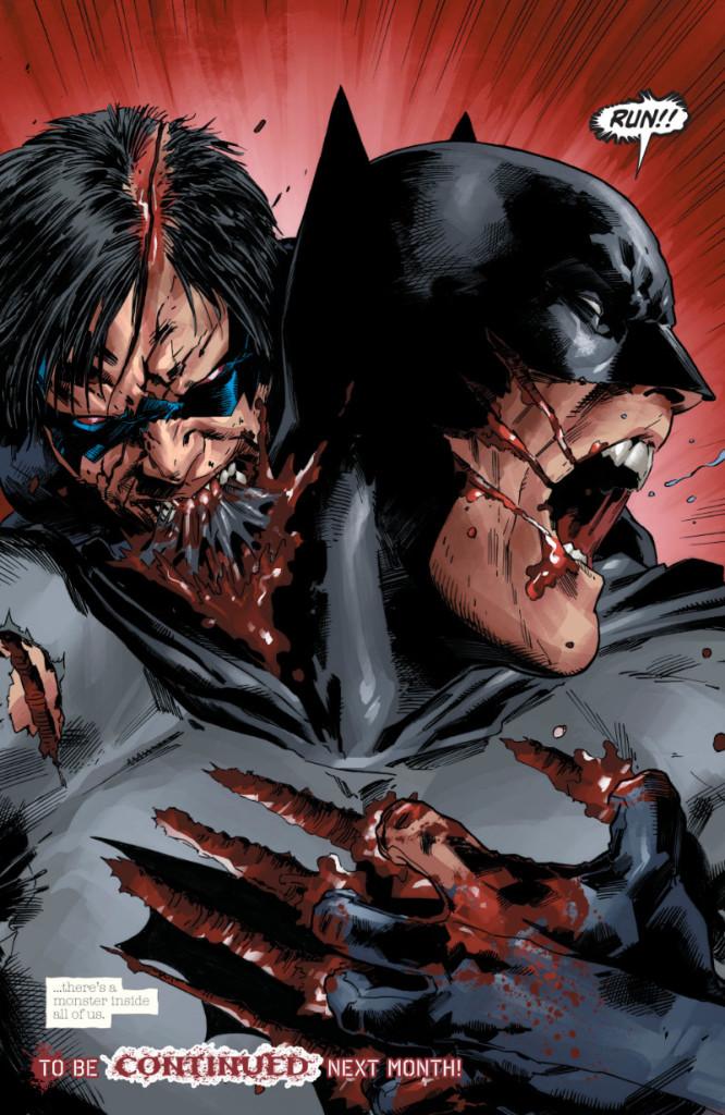 Bon, c'est mal barré !  © DC Comics
