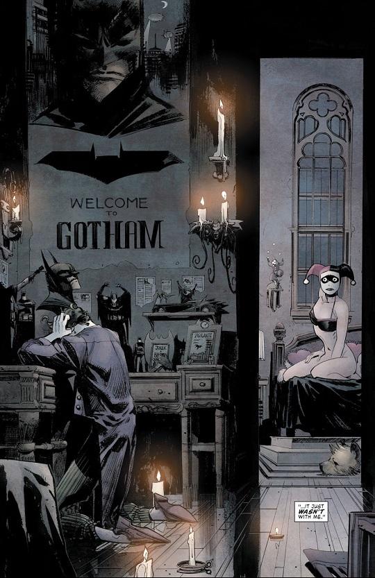 L'obsession qui sépare  © DC Comics
