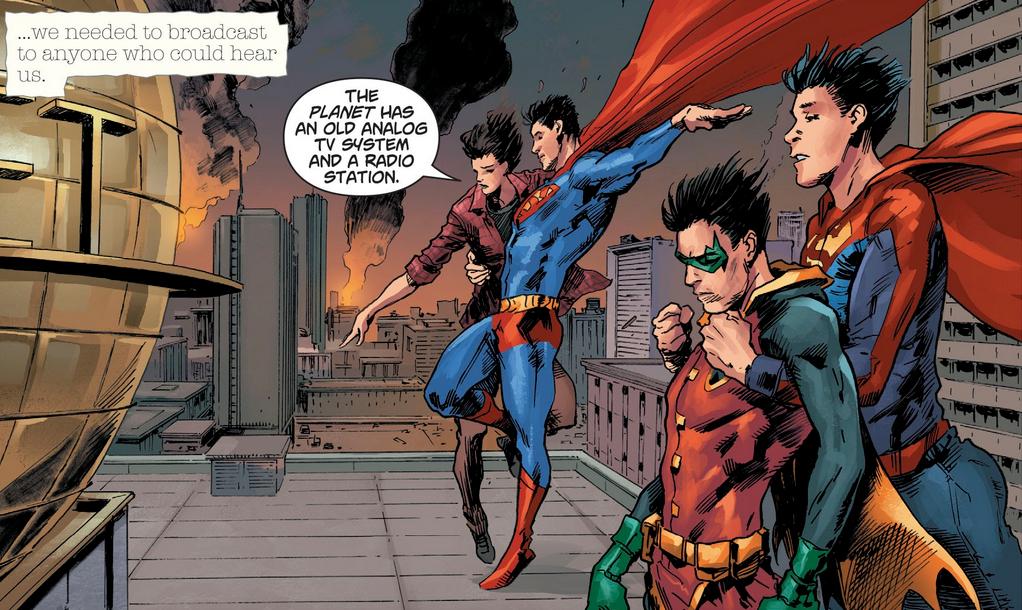 Comme souvent, les persos de Hairsine ont de mauvais coiffeurs... © DC Comics