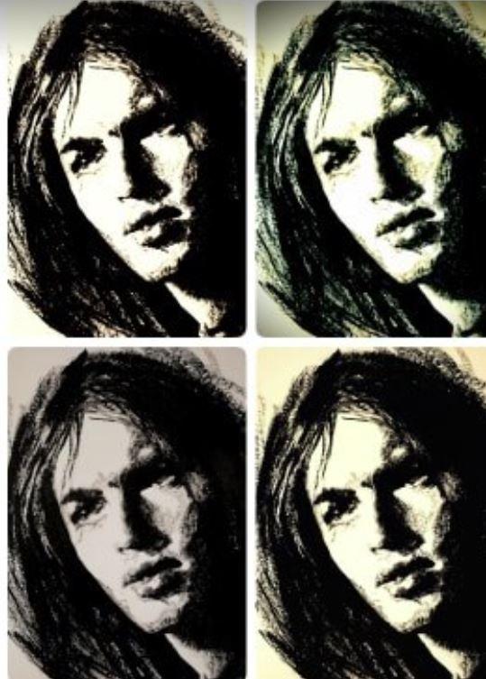 Le jeune David : Un physique d'une beauté absolue dont le principal intéressé ne se souciait guère ! ©Ed Illustratrice