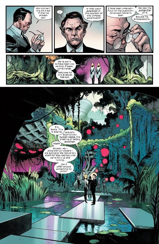 Bienvenu dans l'Habitat  © Marvel Comics