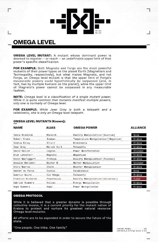 Informations complémentaires © Marvel Comics