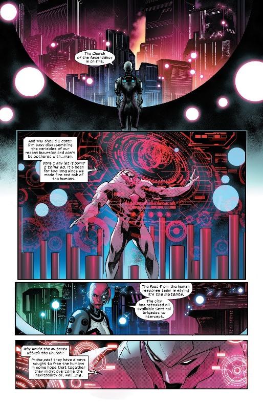 Enfin un rôle à la mesure de Nimrod  © Marvel Comics