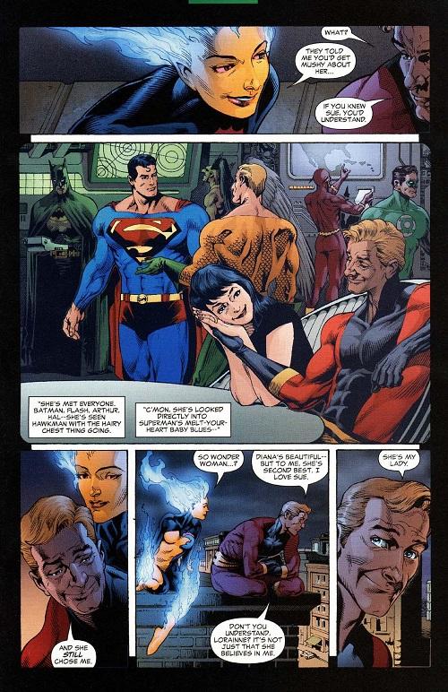 C'est juste une jolie petite histoire d'amour... ©2004-DC Comics-Rags Morales