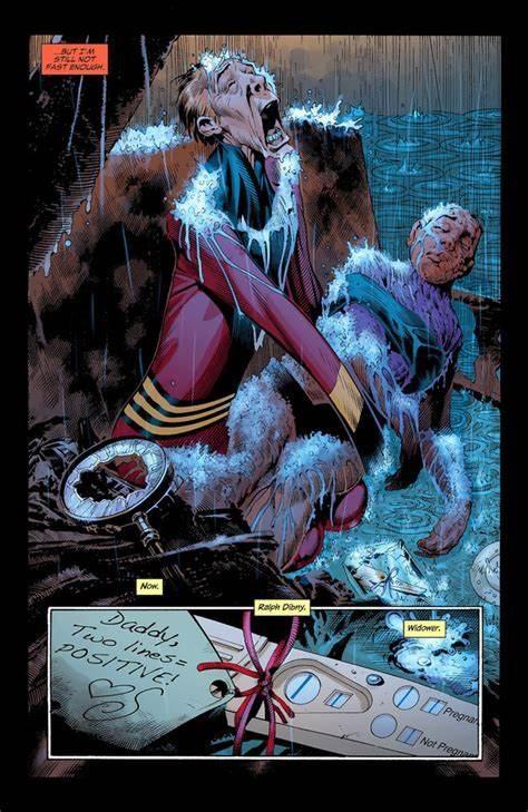 «Mais sans moi, tu es seulement toi...» ©2004-DC Comics-Rags Morales