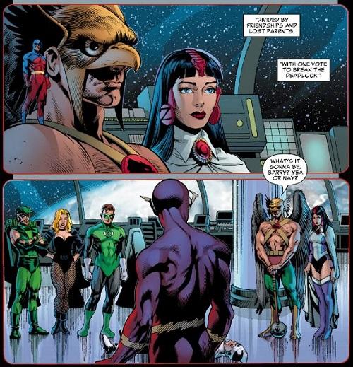 Flash comme arbitre: vers une «Civil War» ou vers une voie médiane? ©2004-DC Comics-Rags Morales