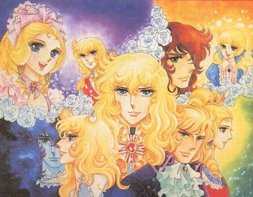 La force d'un visuel à la fois gracieux, agressif, coloré romantique et hyper dramatique. La Rose de Versailles. ©1979-Tokyo Movie shinsha source:http://3.bp.blogspot.com/-d-oA1KPqf5A/TgXBAAqf-6I/AAAAAAAAAaQ/1jYFA7xoL6I/s1600/LadyOscar-varie12.jpg