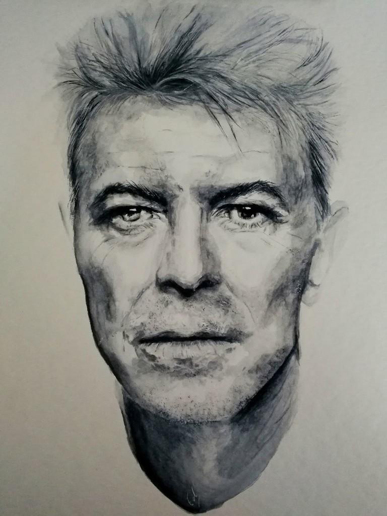 Simplicité et sophistication : le mystère Bowie. ©Ed Illustratrice
