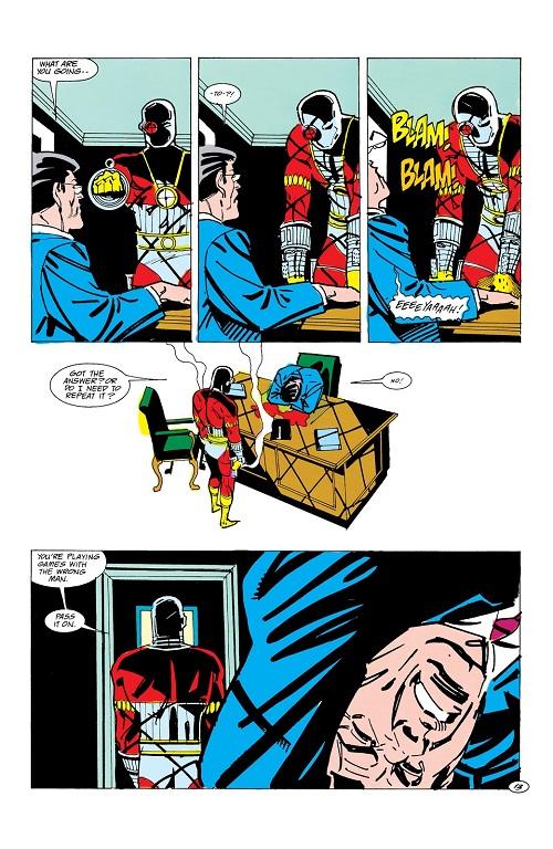 «Sans les mains!» ©1984-DC Comics-Luke Mc Donnell