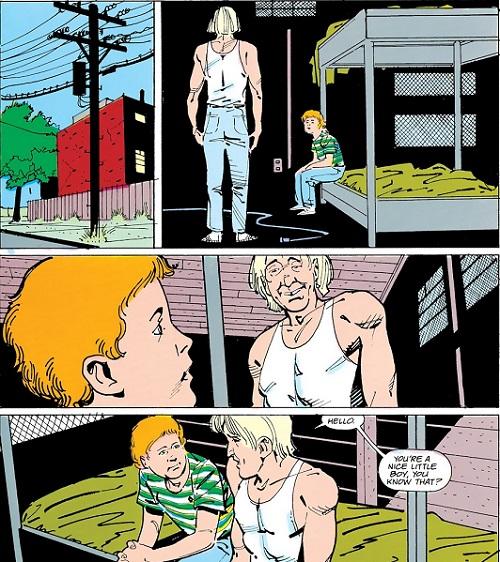 L'horreur en embuscade ©1988-DC Comics-Luke Mc Donnell