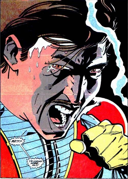 C'est bon Maman, je rentre à la maison! ©1988-DC Comics-Luke Mc Donnell
