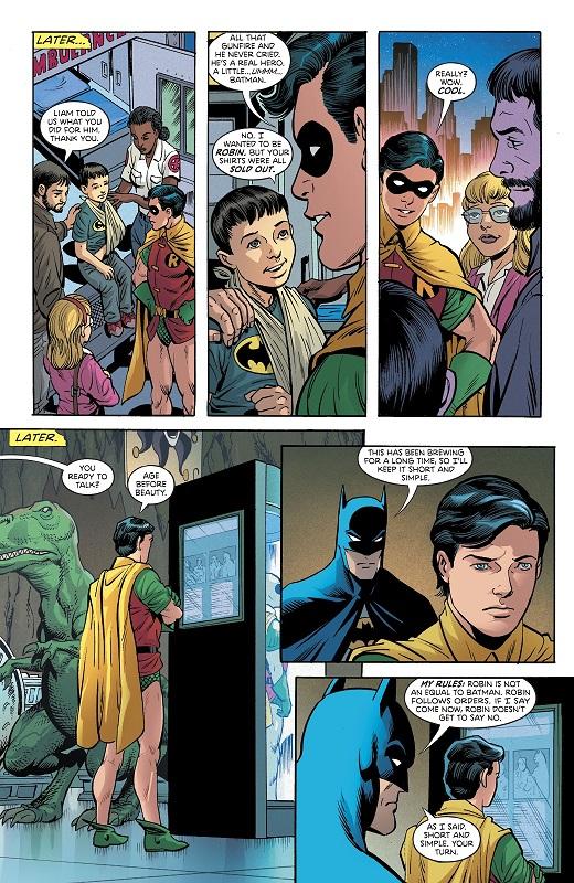 Dernière mission sous la cape jaune  © DC Comics
