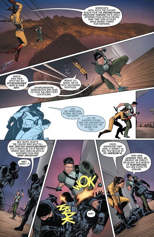 Retour aux sources pour le duo King/Janin  © DC Comics