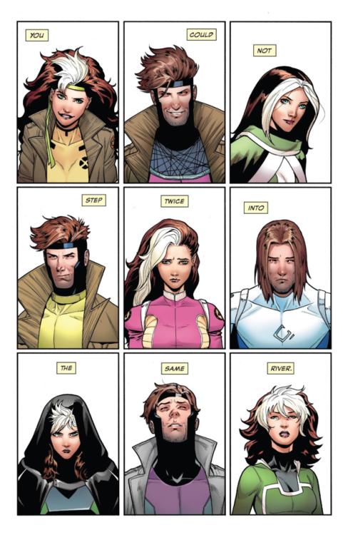 Hop, 20 ans résumés en 9 cases !  ©Marvel Comics