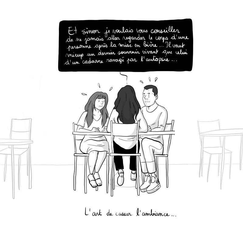 Le moral plombant du dépressif ©CAC Editions