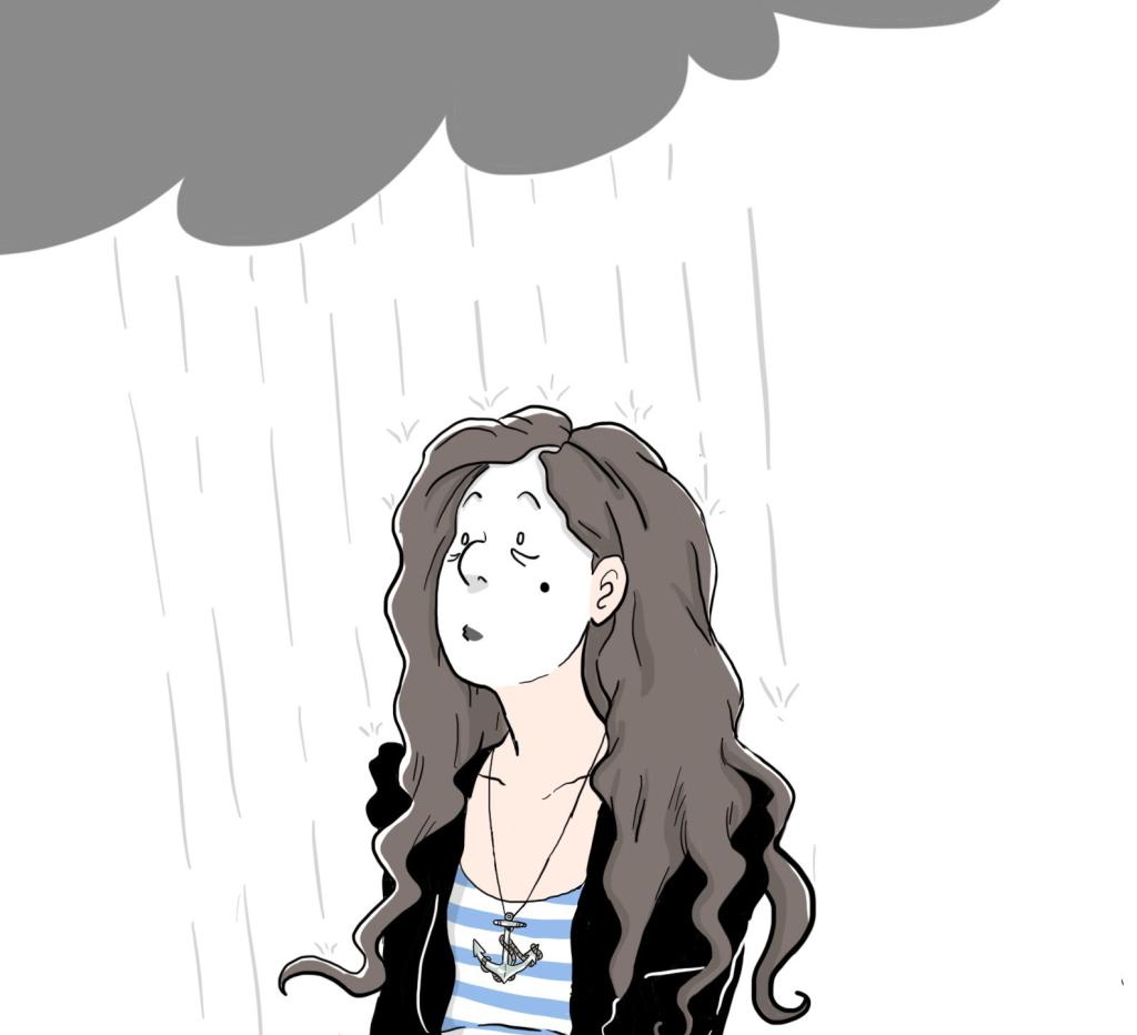 La pluie…triste ou rafraichissante ? ©CAC Editions