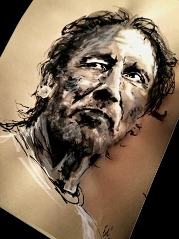 Roger Waters, peinture à l'eau? Non mais pas non plus à l'huile, ça pue on vous a dit.