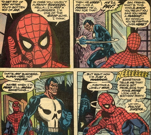 That's my business ? Which business ??? © Marvel Comics