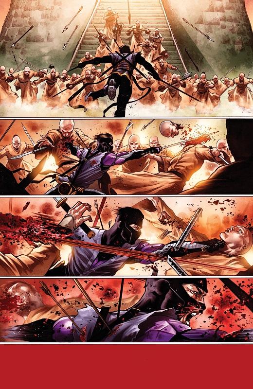 Une progression surréaliste et pourtant haletante  ©Valiant Comics