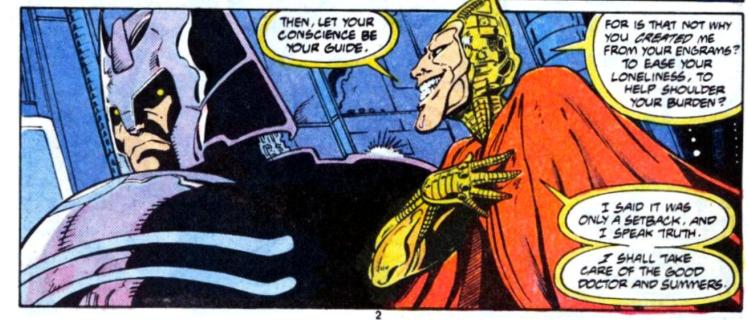 Le vilain préfigure les Phalanx et Caemron Hodge : un gros con en fait.©Marvel Comics