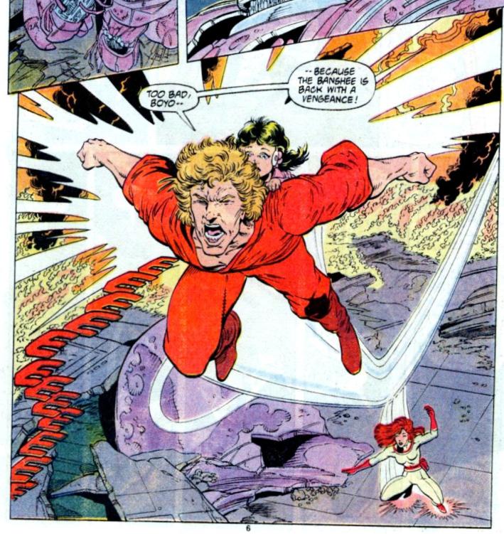 Et j'ai crié, criéééé, Banshee pour qu'il revienne !  ©Marvel Comics