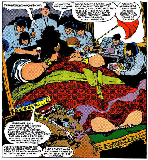 Karma et ses esclaves : La reine jaune.  ©Marvel Comics