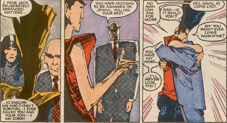 Des retrouvailles entre un père et son fils qui n'aboutiront à ...rien ©Marvel Comics