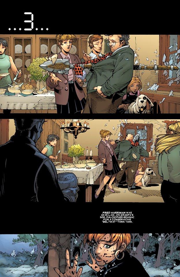 Tic-tac, tic-tac, tic-tac © Marvel Comics