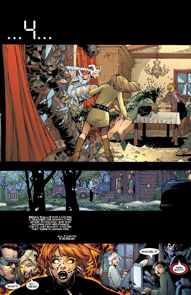 Ambiance «Retour vers le futur» pour Marvel Girl © Marvel Comics