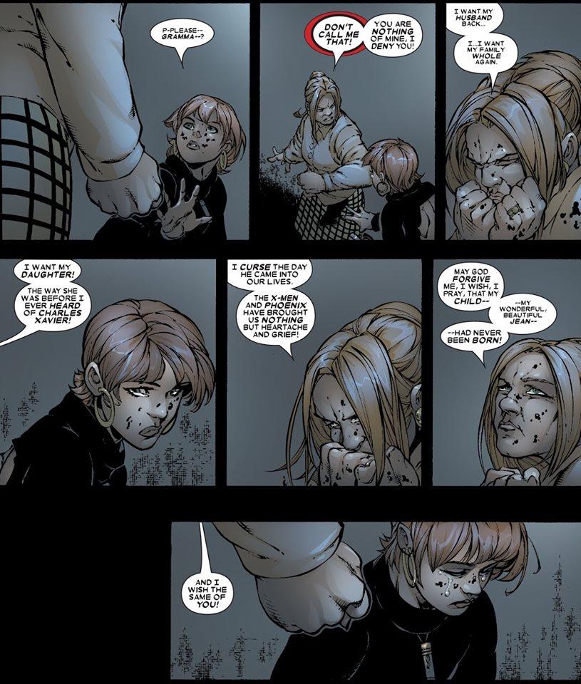 Voilà ce qui s'appelle «laver son linge sale en public»... © Marvel Comics