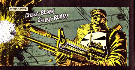 Bourrin, vous avez dit bourrin ? ©Marvel Comic
