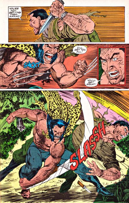 Le cliché des héros se bastonnant sur un malentendu ©Marvel Comics