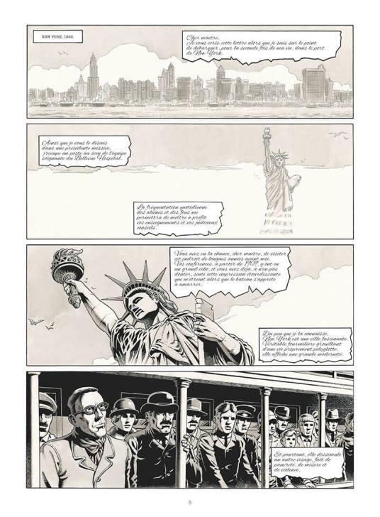 Les promesses de la vie américaine © Comix Buro /Glénat